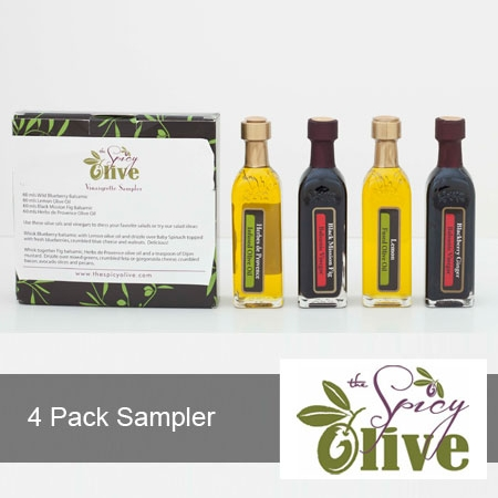 4 Pack Vinaigrette Sampler