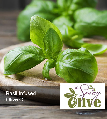 Basil Infused Olive Oil - The Spicy Olive