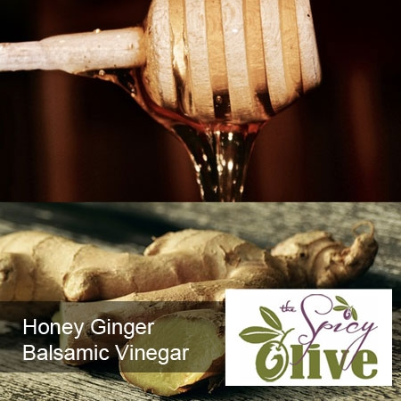 Honey Ginger Balsamic Vinegar