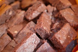 The Spicy Olive's Blood Orange Brownies