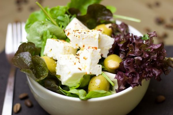 The Spicy Olive Greek Salad