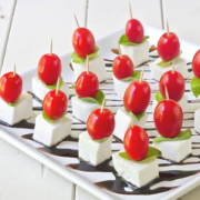 The Spicy Olive's Mini Caprese Bites