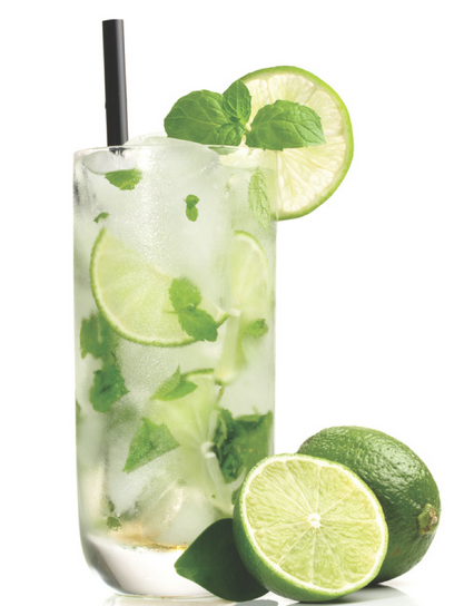 The Spicy Olive's Lemongrass Mint Mojito