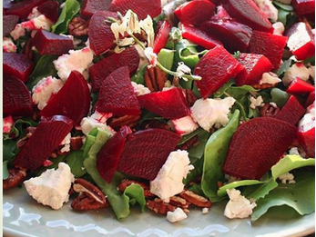 The Spicy Olive's Roasted Beet Salad