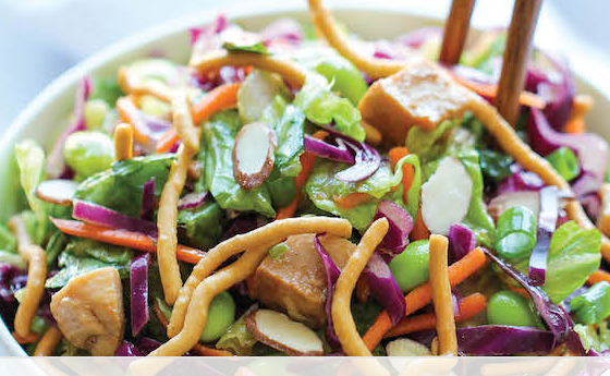 The Spicy Olive Asian Chicken Salad