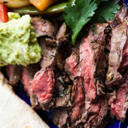 The Spicy Olive's Flank Steak for Fajitas