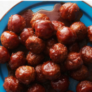 The Spicy Olive's Sweet & Sour Balsamic Glazed Meatballs
