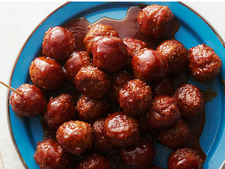 The Spicy Olive Fig Sweet and Sour Meatballs