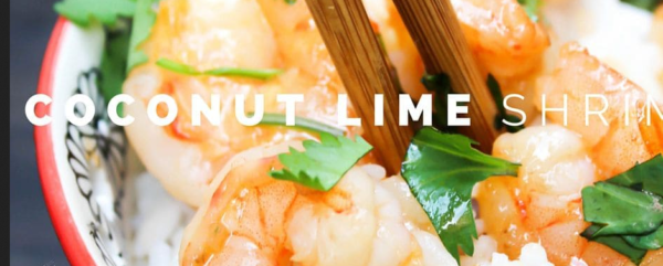 The Spicy Olive Coconut Lime Shrimp