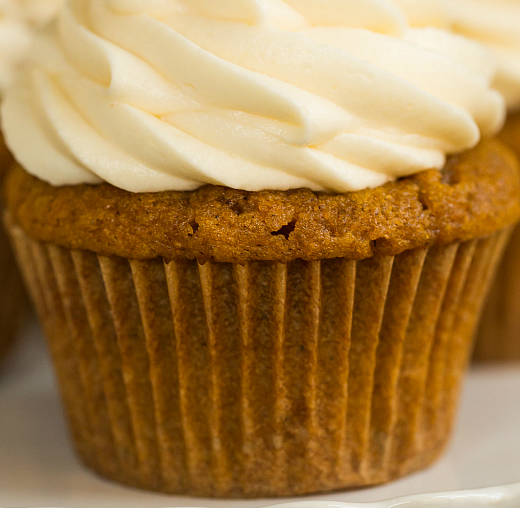 The Spicy Olive Pumpkin Cupcakes
