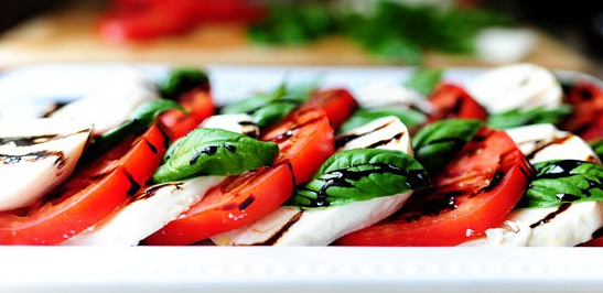 The Spicy Olive Salad Caprese