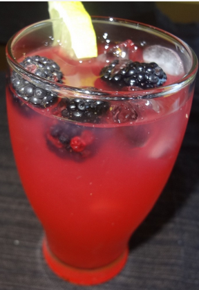 The Spicy Olive's Blackberry Ginger Lemonade