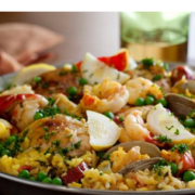 The Spicy Olive's Paella