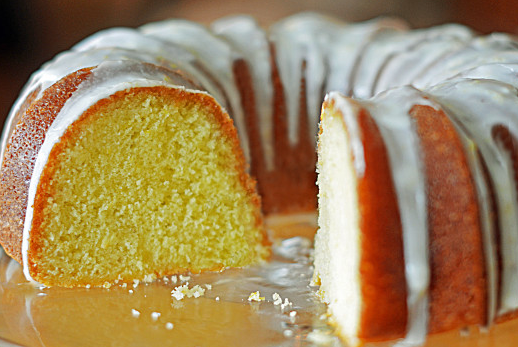 The Spicy Olive Lemon Bundt Cake