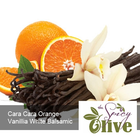 The Spicy Olive Cara Cara Orange Vanillia white balsamic