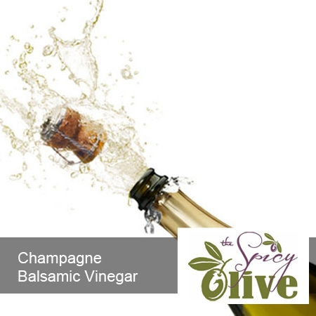 The Spicy Olive Champagne balsamic vinegar