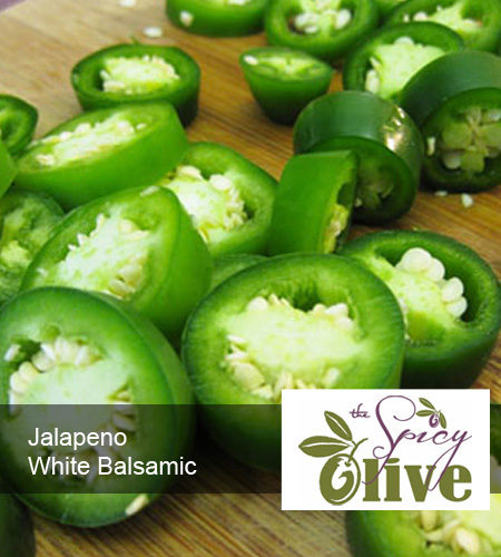 The Spicy Olive Jalapeno white balsamic