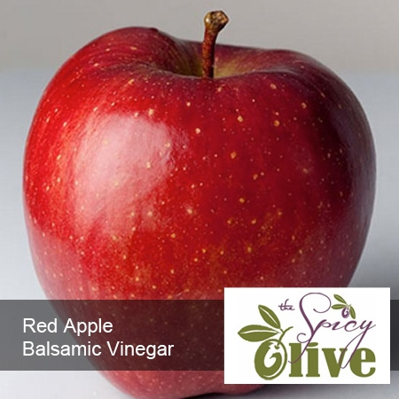 The Spicy Olive's Red Apple balsamic vinegar