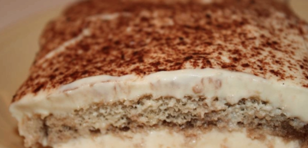 The Spicy Olive's Espresso Balsamic Tiramisu