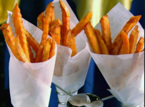 The Spicy Olive's Sweet Potato Fries