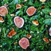 The Spicy Olive's Kale and FIg Salad