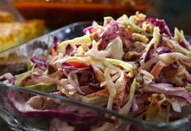 The Spicy Olive Apple Slaw
