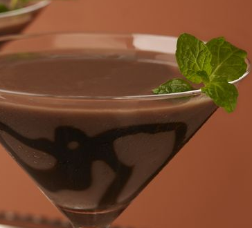 The Spicy Olive's Dark Chocolate Martini