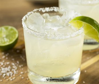 The Spicy Olive's Key Lime Margarita