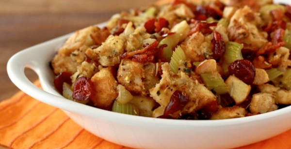 The Spicy Olive's Cranberry Stuffing