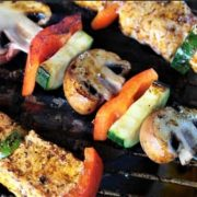 The Spicy Olive's Chicken Kebabs
