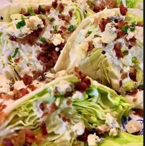 The Spicy Olive's Wedge Salad