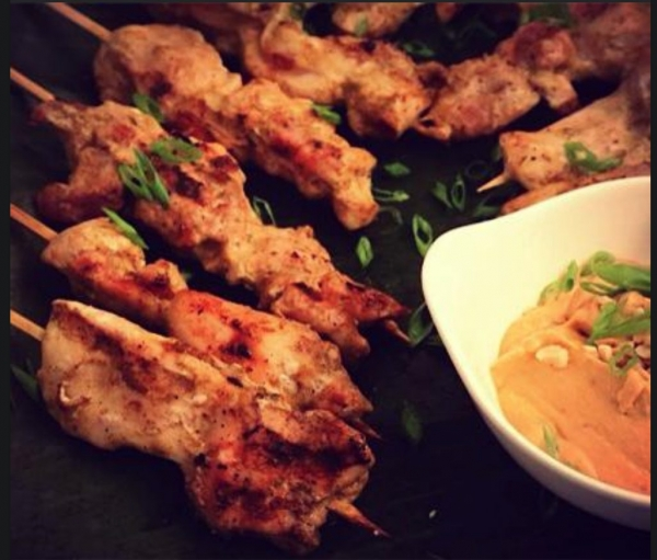 The Spicy Olive's Chicken Skewers
