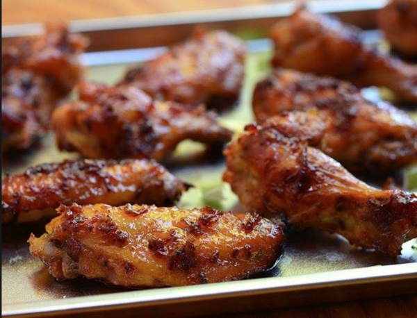 The Spicy Olive's Spicy Rum Chicken Wings