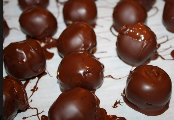 The Spicy Olive's Chocolate Balsamic Truffles