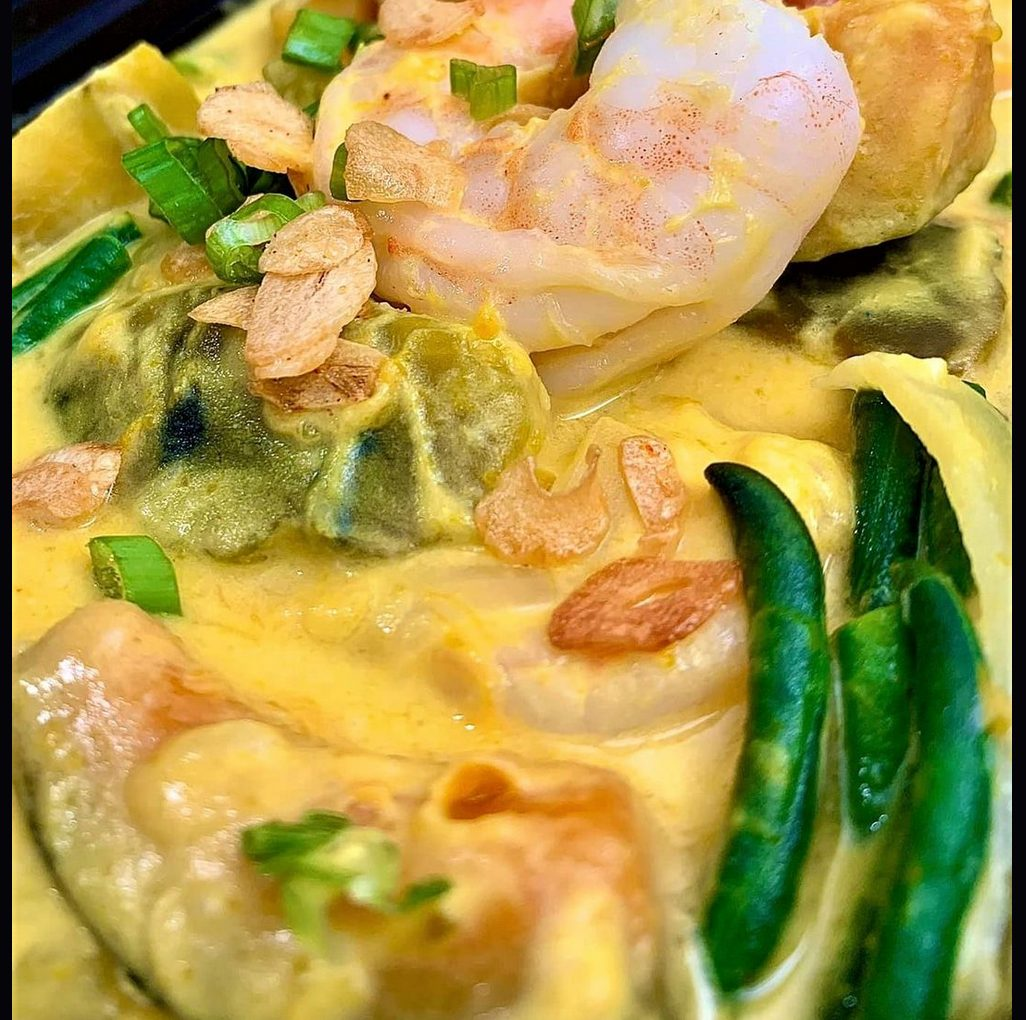 The Spicy Olive's Coconut Curry Shrimp