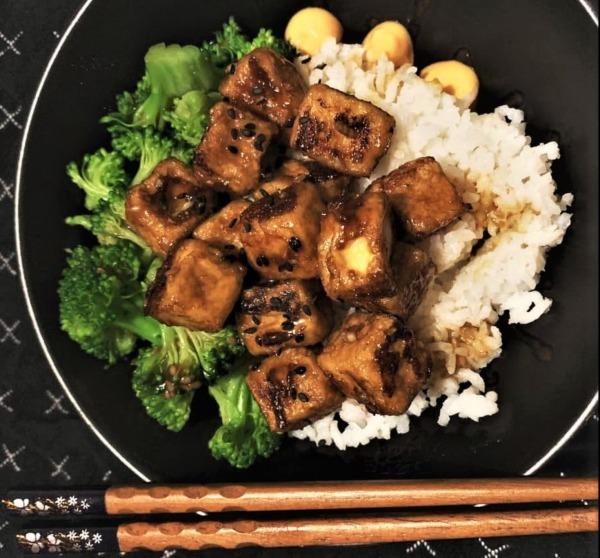 The Spicy Olive's Neapolitan Herb Tofu